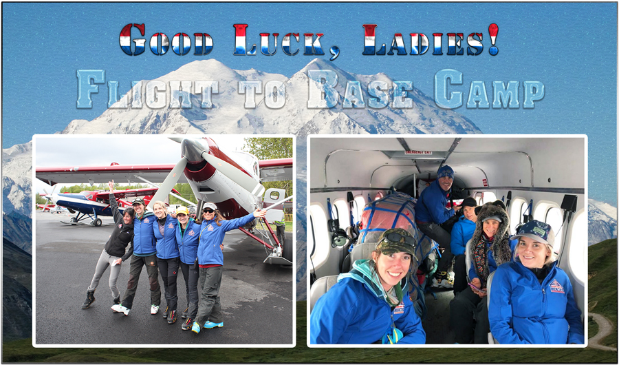 Flight To Base Camp Service To Summit - Mt Denali
